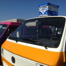 La decoración de las furgos VW es variada y atractiva para los niños