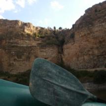 Hacemos una excursión en canoa por las hoces del Duratón