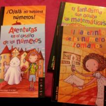 Libros para aficionar a las letras a los niños que prefieren los números