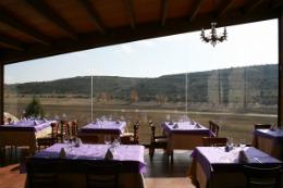 Restaurante la Vera Cruz, en Maderuelo (Segovia)