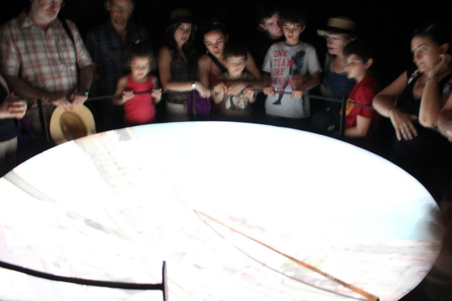 La cámara oscura de Torre Tavira impresiona a grandes y a chicos