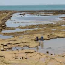 Corrales de las playas de Chipiona