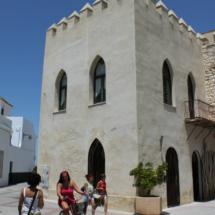 Chipiona, en Cádiz, con niños