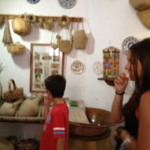 Utensiolios de cocina en el Museo de Conil