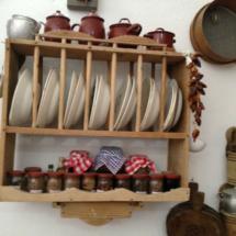 Menaje de cocina en el Museo de las Raíces Conileñas