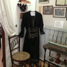 Traje de novia de 1915 en el Museo de las Raíces Conileñas