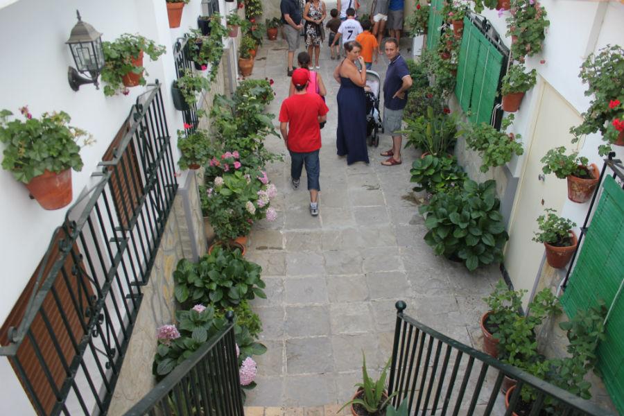 Ruta por los patios andaluces de Conil