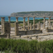 Ruinas romanas de Baelo Claudia, en Bolonia, Cádiz