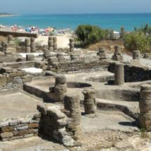 Ruinas de Baelo Claudia en Bolonia, Cádiz