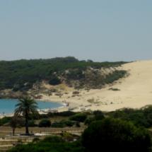 Vista de la duna de Bolonia, en Cádiz