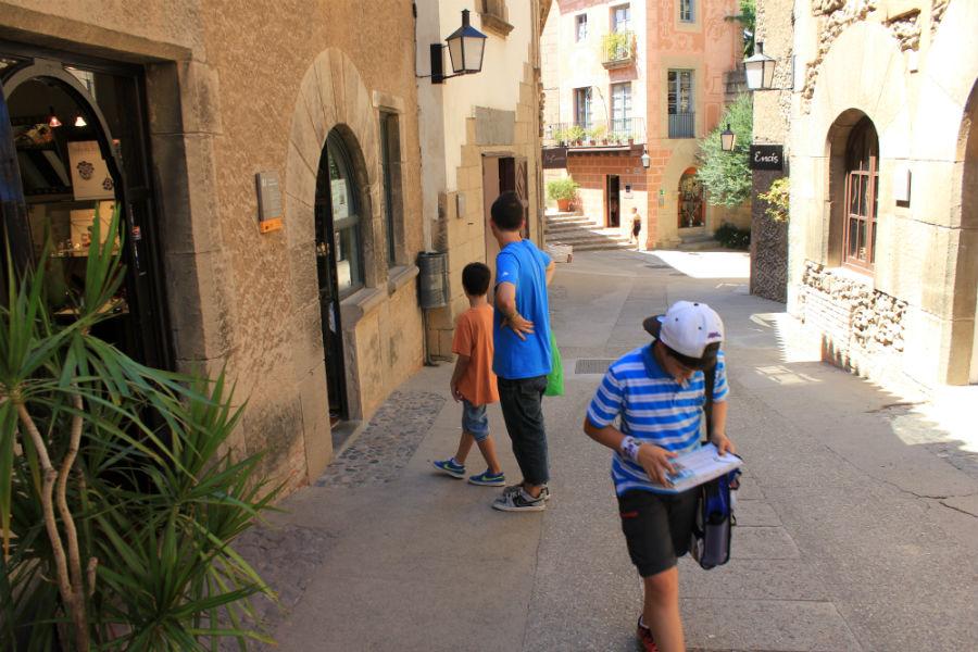 Visitamos el Poble Espanyol de Barcelona
