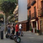 Paseo en segway por Madrid
