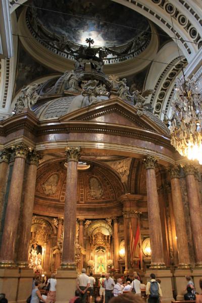Capilla de la basílica del Pilar