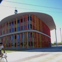 Visitamos el recinto de la Expo de Zaragoza con los niños
