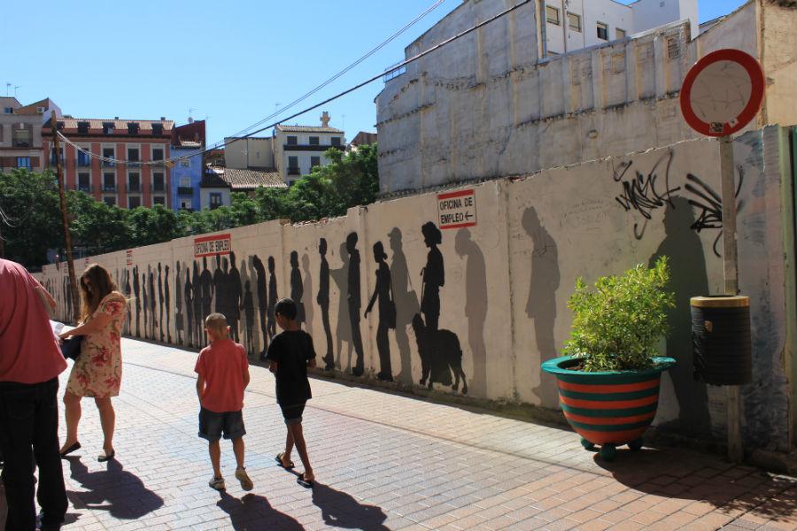 Ruta de los graffiti en zaragoza for Hoteles en zaragoza con ninos