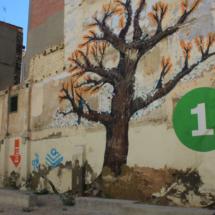 """Zaragoza ofrece una """"exposición permanente"""" de graffitis muy atractivos para los niños"""