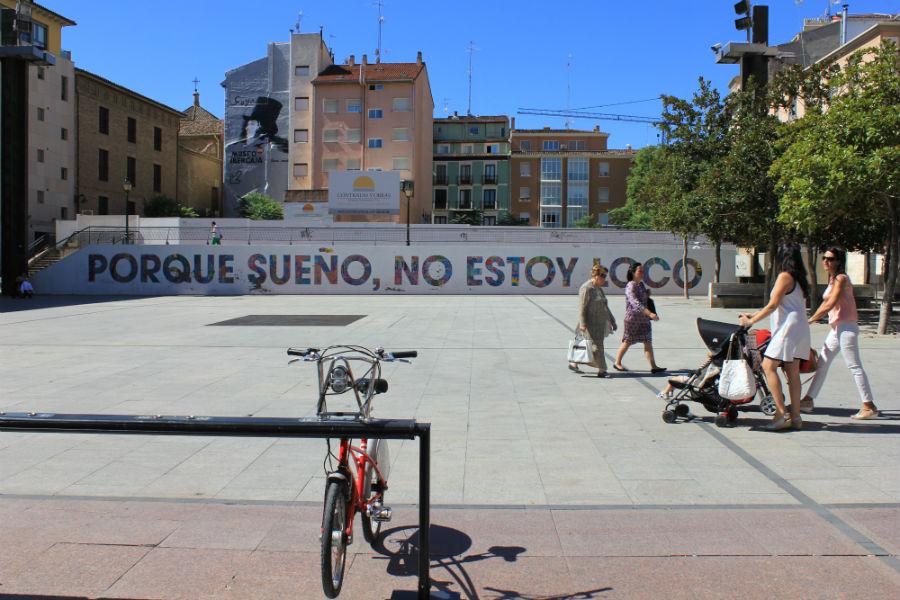 La plaza del pilar de zaragoza con ni os for Alojamiento zaragoza con ninos