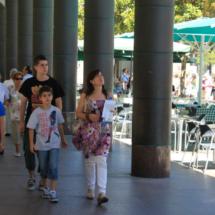 Paseamos con los niños por la Plaza del Pilar de Zaragoza