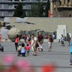 Panorámica de la Plaza del Pilar de Zaragoza