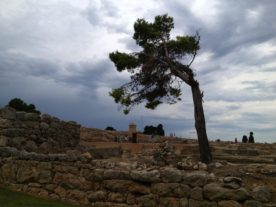 Ampurias: ruinas griegas y romanas en Girona