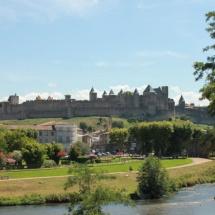 Visitamos Carcassonne, un castillo medieval en Francia