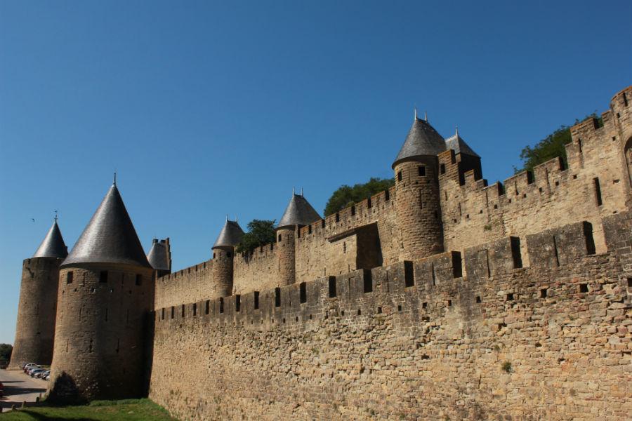 Carcassonne fue una fortaleza fronteriza clave en tiempos del Reino de Aragón.