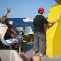 Paseo en barco de cristal por las Islas Medas