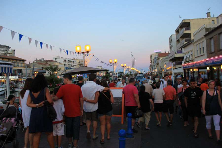 Palavas les Flots celebra sus fiestas populares a mediados de agosto