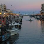 Palavas: mar y torneos sobre barcas