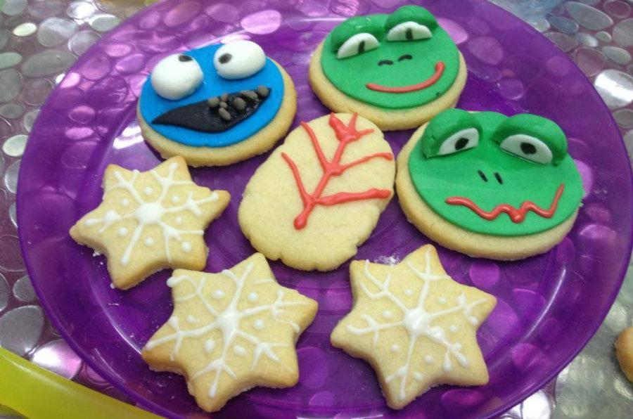 Aprendemos a hacer galletas divertidas con los niños