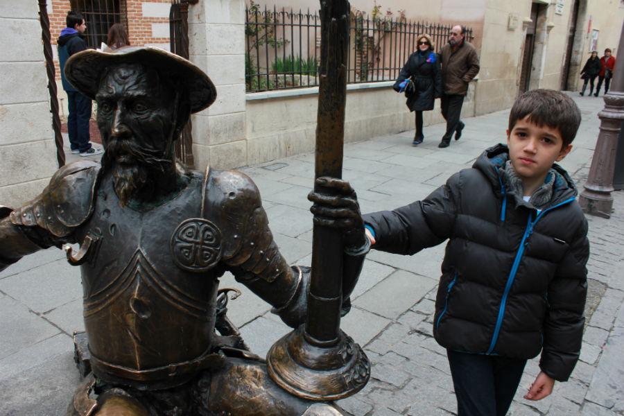 Casa de Cervantes en Alcalá de Henares