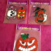 Decoración para Halloween: figuras de silicona para cristales
