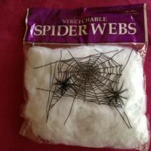 Decoración para Halloween: telarañas