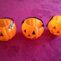 Decoración para Halloween: calabacitas