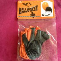 Decoración para Halloween: globos