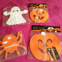 Decoración para Halloween: guirnaldas