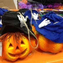 Decoración para Halloween: calabazas