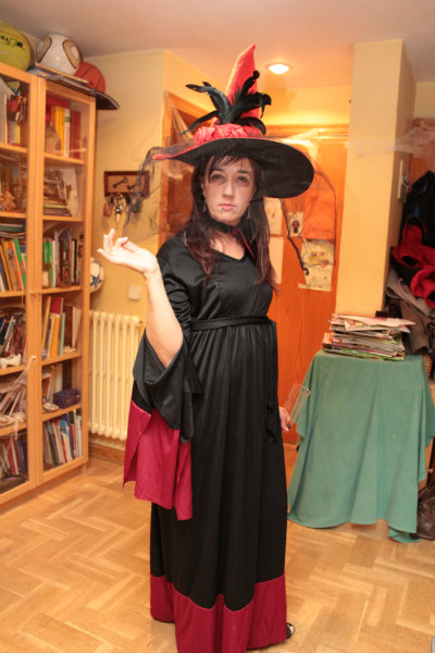 Disfraces para Halloween: bruja