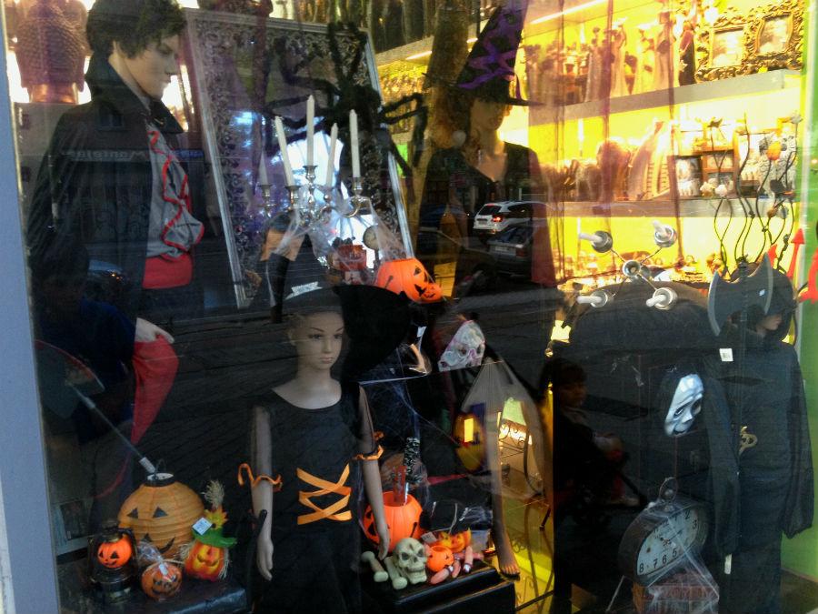 Disfraces para Halloween en las tiendas