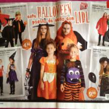 Catálogo de Halloween 2013 en Lidl