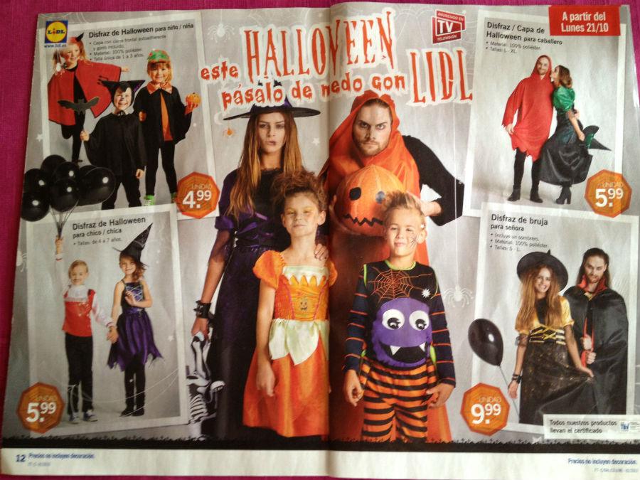 disfraces de halloween lidl
