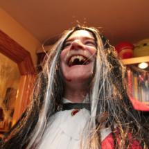 Maquillajes para Halloween: vampiro jefe