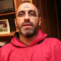 Maquillajes para Halloween: monje maligno