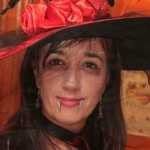 Maquillajes para Halloween: bruja vampiresa