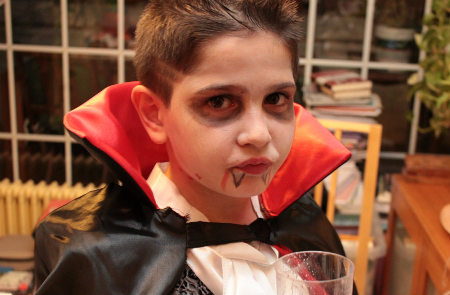 maquillajes para halloween vampiro