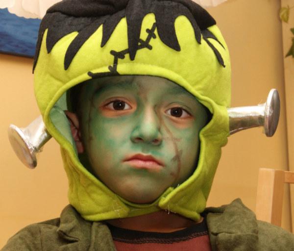 Maquillajes para Halloween: frankenstein