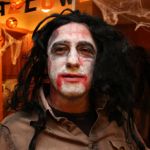 Halloween: vampiro zombie