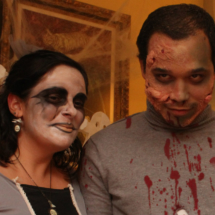 Maquillajes para Halloween: zombis