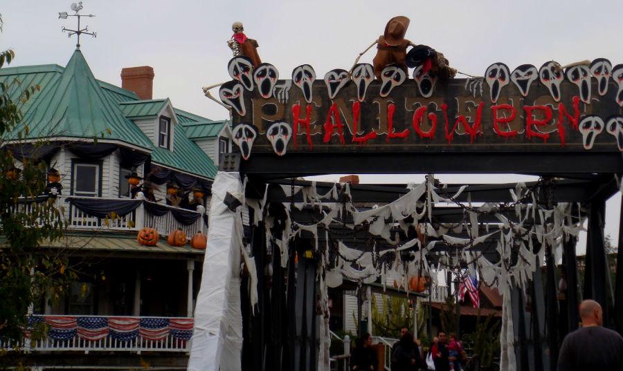 Halloween, en los parques de atracciones.