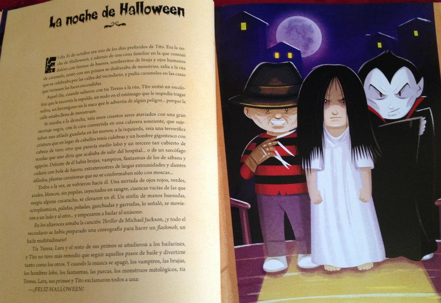 3 libros infantiles sobre halloween para leer en halloween - Lamparas para leer libros ...